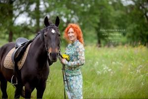 Павлина - Украинская верховая