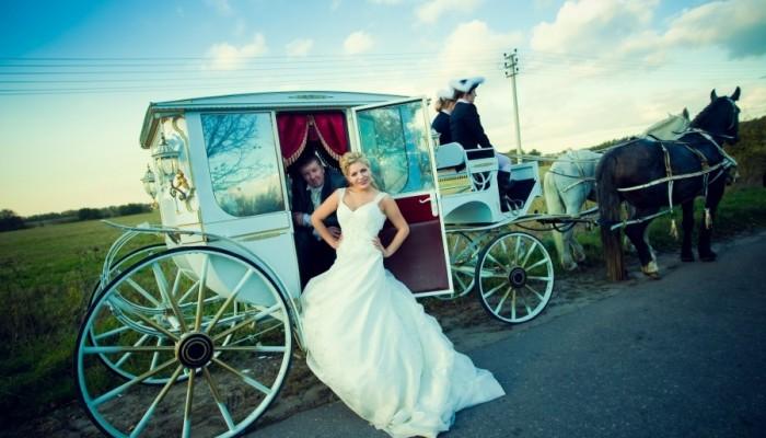 карета на свадьбу