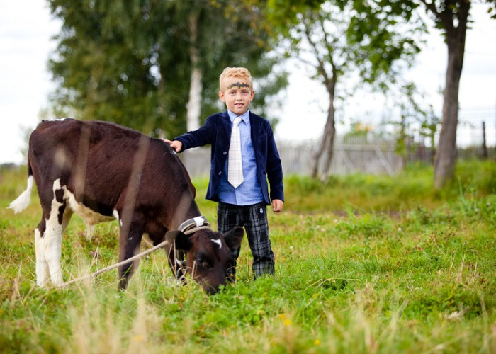 Наши животные, экскурсия по ферме