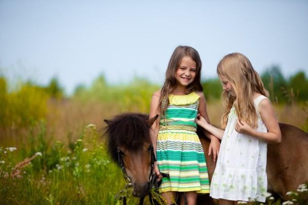 фотосессия с лошадьми в клубе Петергоф