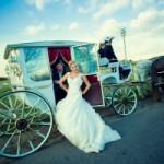 Карета на свадьбу – очевидный триумф!