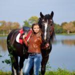 Прогулка на лошадях в СПб с фотосессией