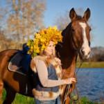 Катание на лошадях в Санкт-Петербурге