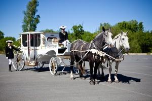 карета на свадьбу спб