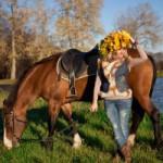 Осенняя фотосессия и конная прогулка в КТК Петергоф