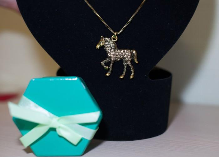 в подарок лошадь