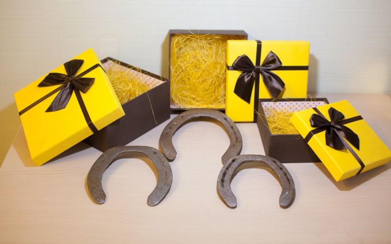 подкова в подарок