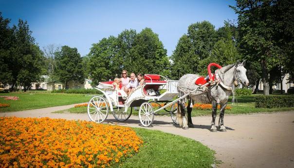 карета на свадьбу Елизавета