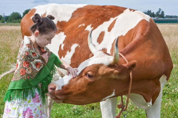 детская экскурсия по ферме с катанием